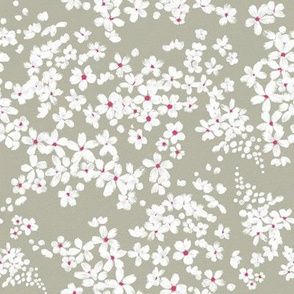 White Flower Field