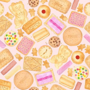 Assorted Biscuits | Large | Iced Vovo | Nice | Teddy Bear | Custard Cream