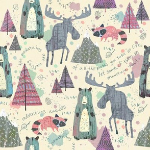 Sherbet Forest - Mountain Animals
