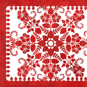 Akahai Quilt (red colorway)