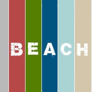 Beach stripes - 1951 BEACH Lake