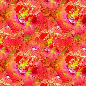 Red Orange Day Lily