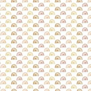 """Golden Watercolor Rainbow Rows .5"""""""