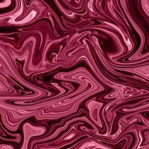 Dark pink sik