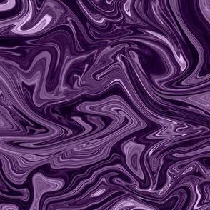 violet  agate silk