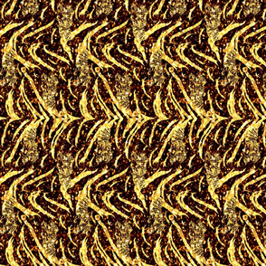 Tribal Tiger stripes print - vertical New Years fireworks small