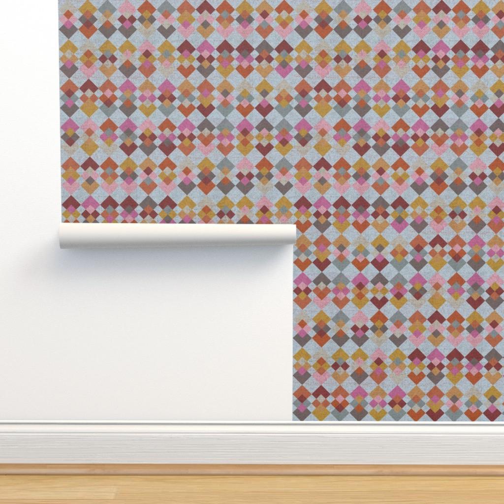 Isobar Durable Wallpaper featuring Inspiration - Kilim by owlandchickadee