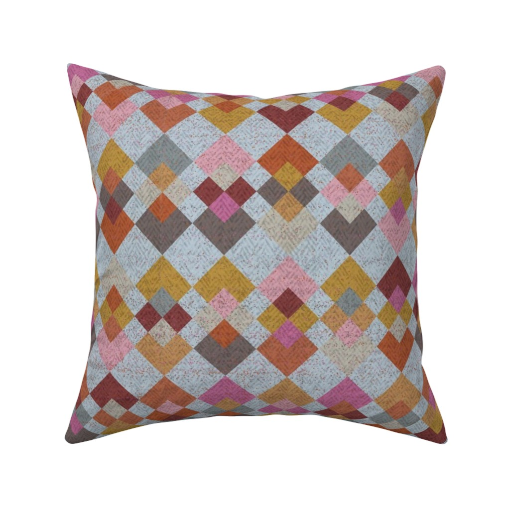 Catalan Throw Pillow featuring Inspiration - Kilim by owlandchickadee