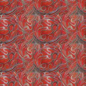 harmonic red nouveau music