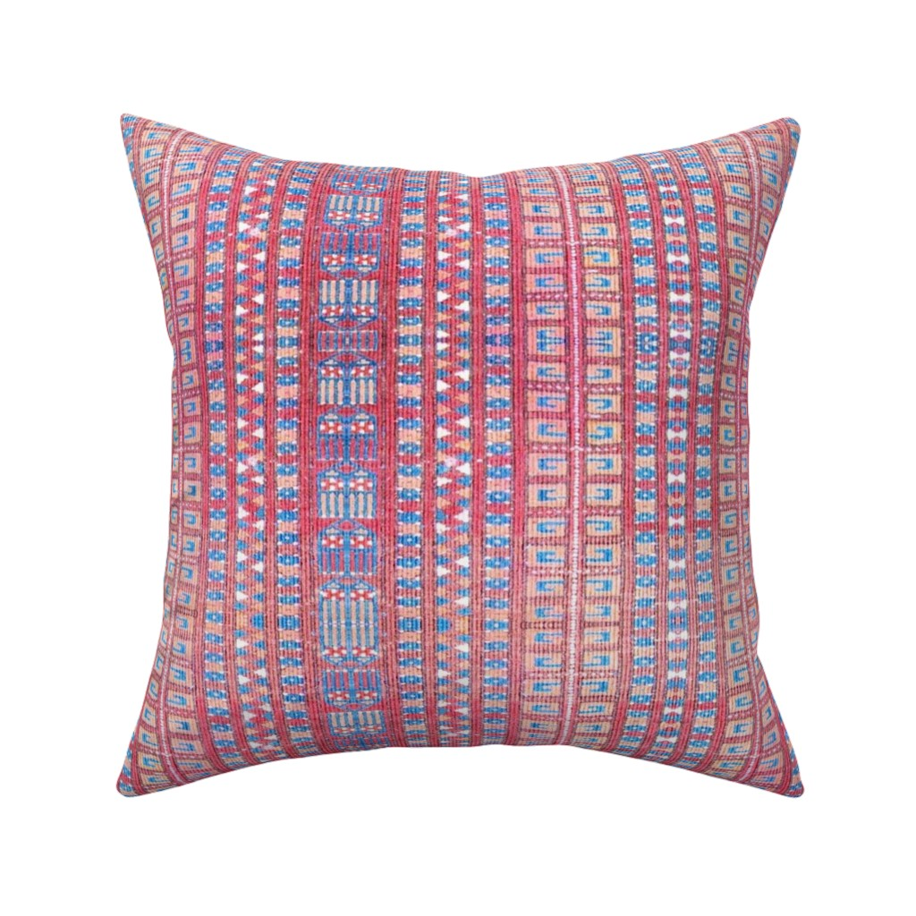 Catalan Throw Pillow featuring kilim by marigoldpink