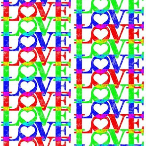RGB Love White
