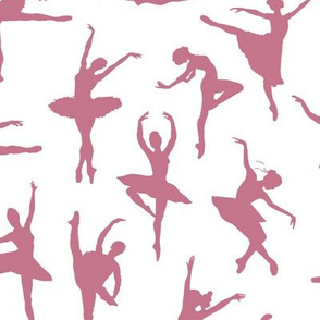 Mauve Ballerinas // Large