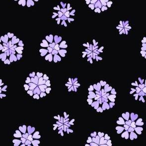Purple heart flakes 2