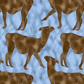 Moody Mod Llamas - chocolate ice