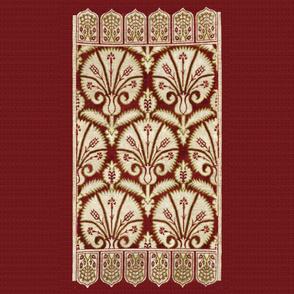 Ottoman cushion cover