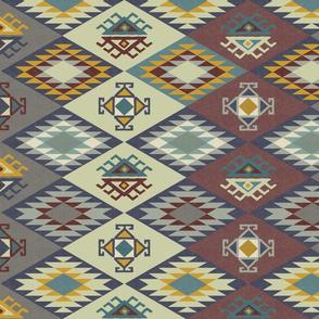 Diamond Kilim - Earth - Texture