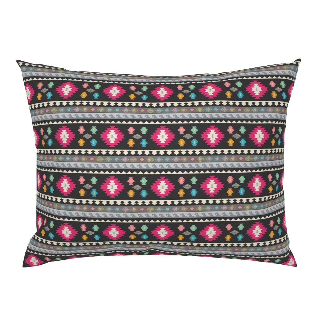 Campine Pillow Sham featuring Kilim Me Softly by thewellingtonboot