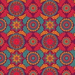 Greek Mandalas in Jewel Tones
