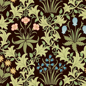 The William Morris Collection ~ Celandine ~ Original on Senart