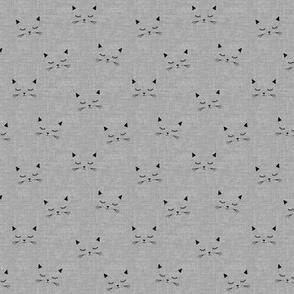 Cats - Gray Texture - small