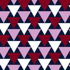 07199124 : triangle 2to1 : navy orchid burgundy