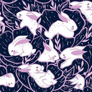 Where the bunnies sleep (medium)