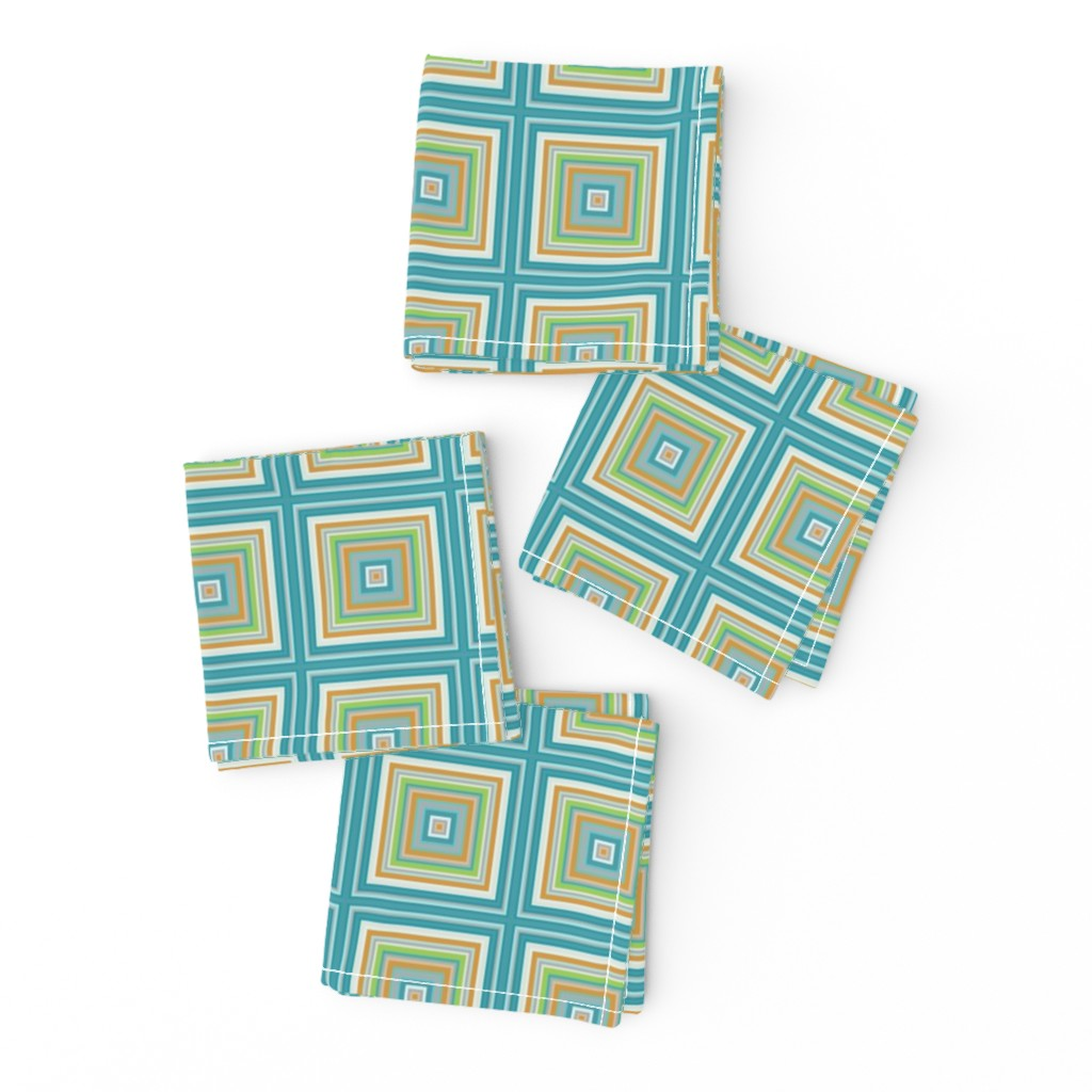 Frizzle Cocktail Napkins featuring Trip to the Shore by nettieandliz