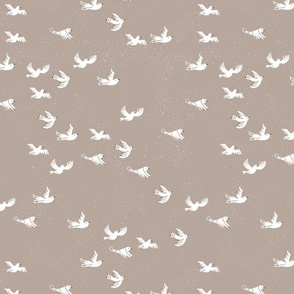 Flock - brown