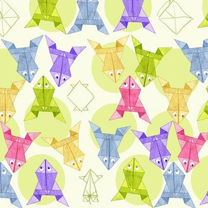Origami Frog