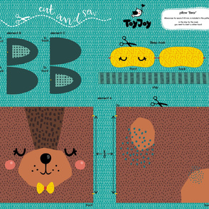 pillow Bear for baby boy