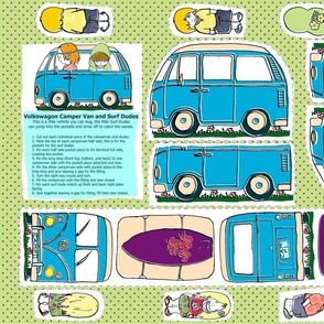 Campervan and the Surfies