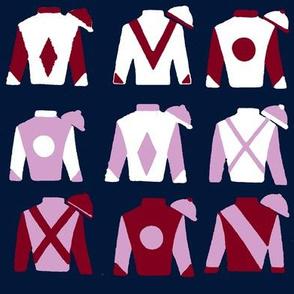 Derby Jockey Silks, limited palette