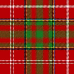 Moray red plaid, 6""