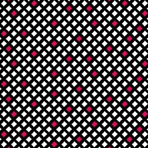 Arizona Diamonds (Black, White and Pink)
