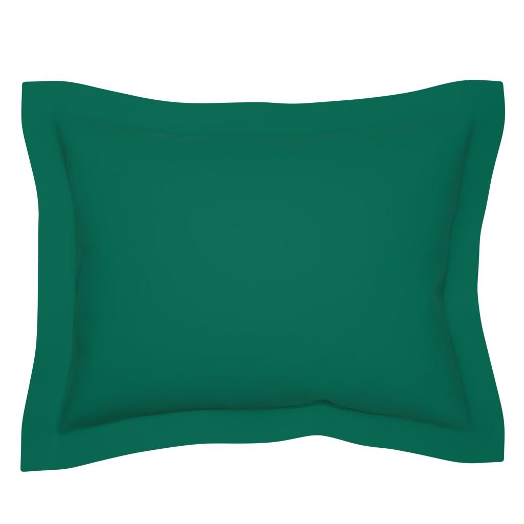 Sebright Pillow Sham featuring persephone rust by colorofmagic