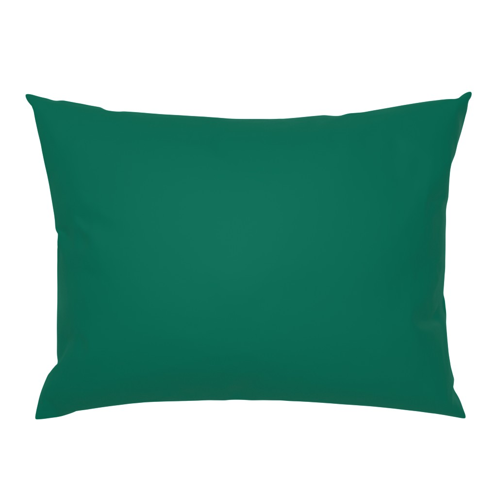 Campine Pillow Sham featuring persephone rust by colorofmagic