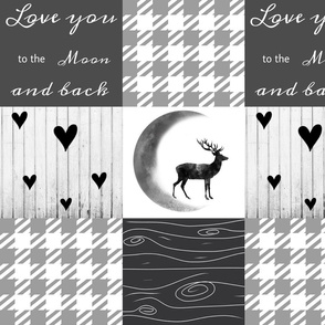 Love you to the moon - gray dreamer