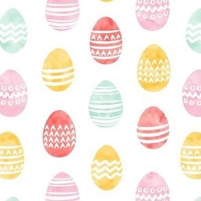 Easter eggs - watercolor multi eggs