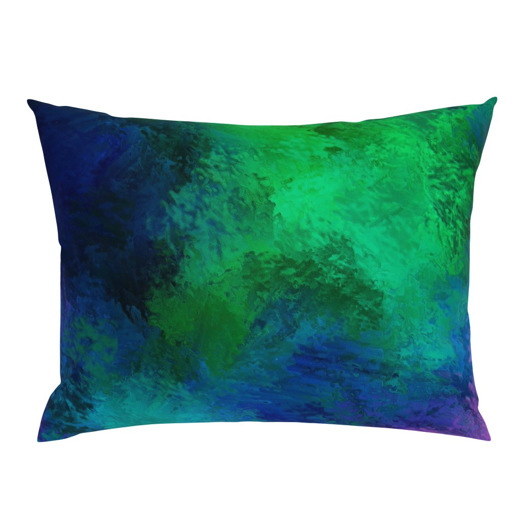 Campine Pillow Sham featuring BRILLIANT SPRING 1 by poefashion