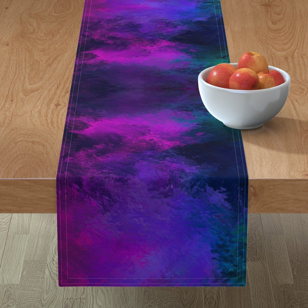 Minorca Table Runner featuring BRILLIANT SPRING 1 by poefashion