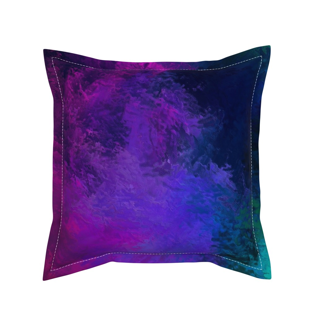 Serama Throw Pillow featuring BRILLIANT SPRING 1 by poefashion