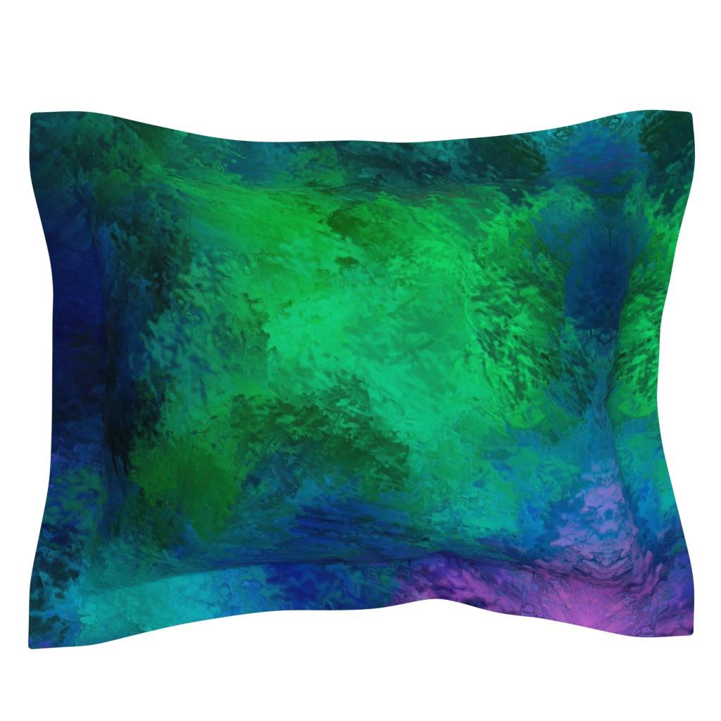 Sebright Pillow Sham featuring BRILLIANT SPRING 1 by poefashion
