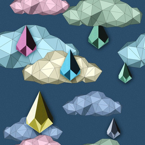 ORIGAMI Raining Day (Dark)