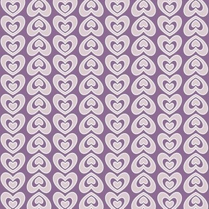 Nested Hearts Purple (Sugar)