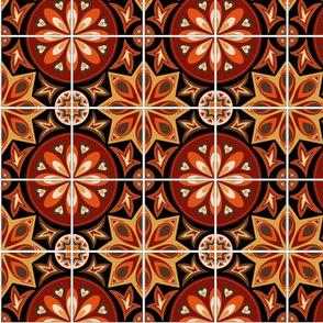 Autumn Spanish Tiles