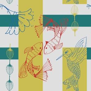Kabuki Kingdom with Bird