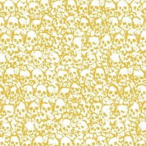 Skull Wall 2019 Mustard