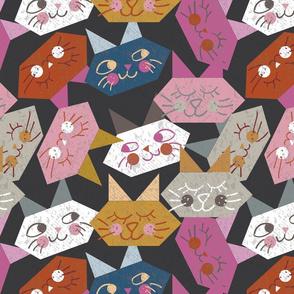 Origami Kitties