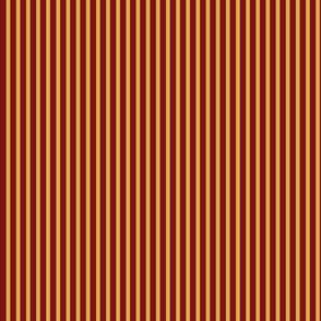 Red and Yellow Gold Stripe, Thicker