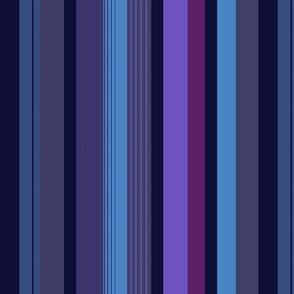 Pants stripes, Blue Tint